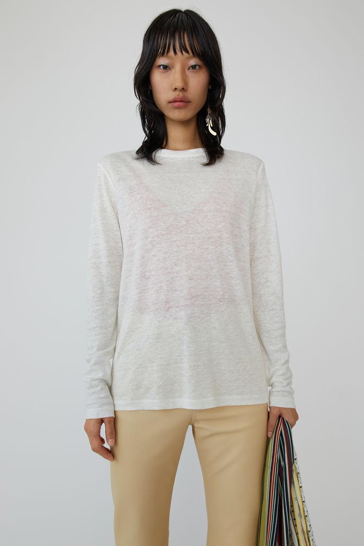 850c05a9d8376 Acne Studios - Taline LS Linen Off white