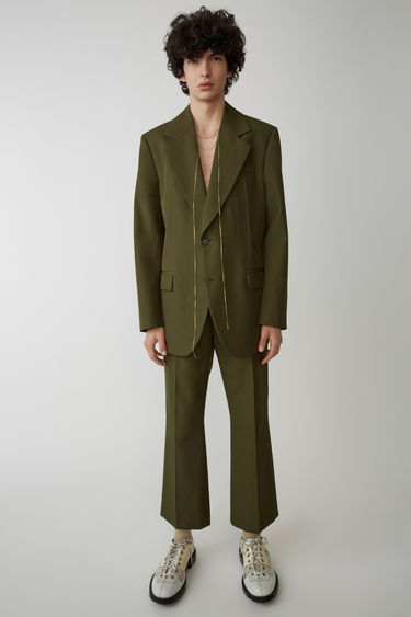 Acne Studios FN-MN-SUIT000006 Hunter green 375x
