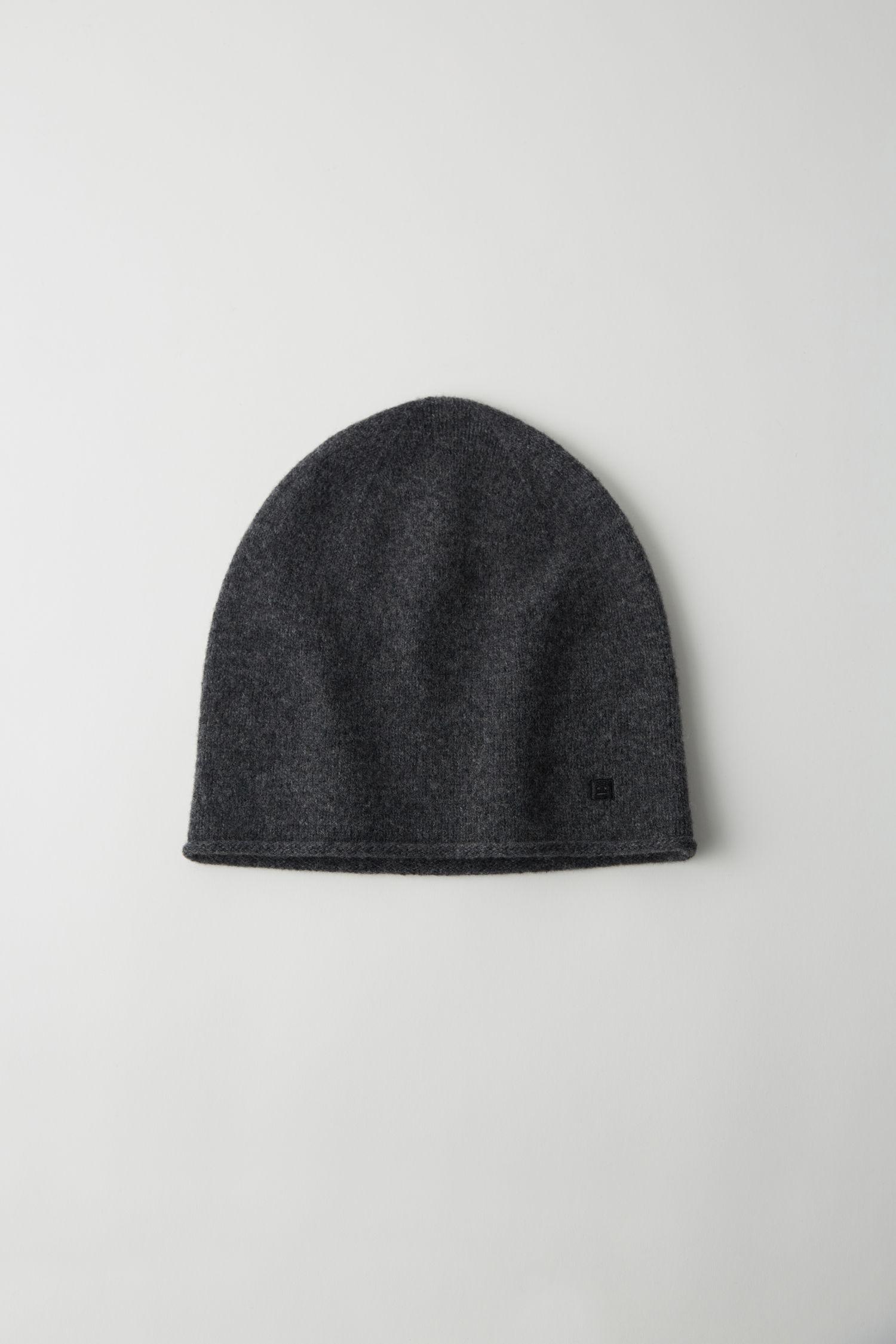 轻质无檐便帽 炭灰色混色