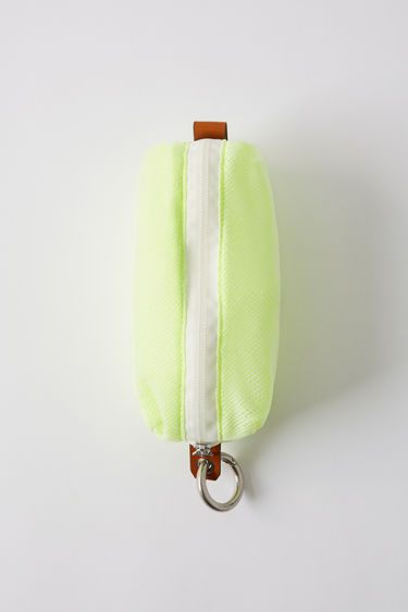 Leather goods FN-MN-BAGS000006 Fluo yellow 375x