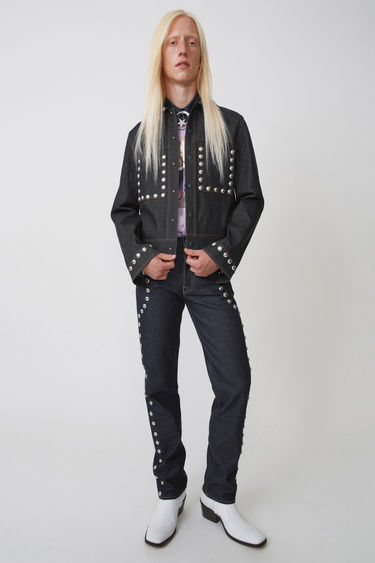 Johnny Winter Capsule BK-MN-OUTW000031 Indigo blue 375x