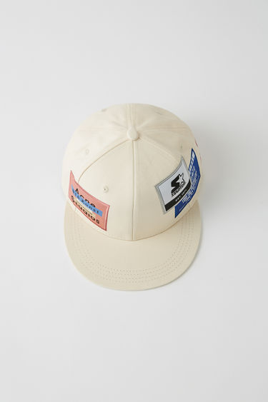 Acne Studios BK-UX-HATS000014 Off white 375x
