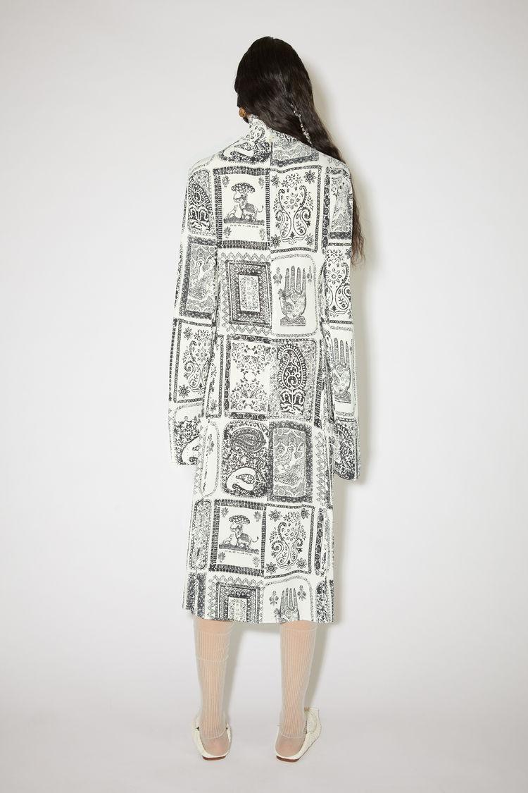 ACNE STUDIOS Dresses PRINTED DRESS OFF WHITE