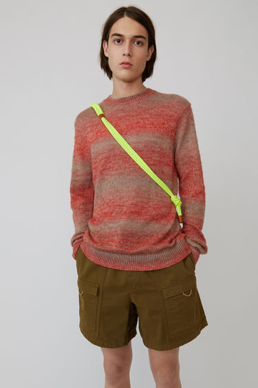 Ready-to-wear FN-MN-KNIT000047 Red melange 375x