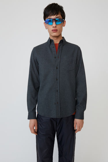 Acne Studios Isherwood Melt Carbon grey 1 750x