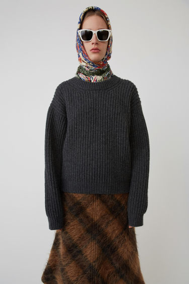 Acne Studios FN-WN-KNIT000015 Dark grey 375x