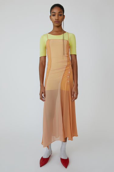 Ready-to-wear FN-WN-DRES000105 Pale orange 375x