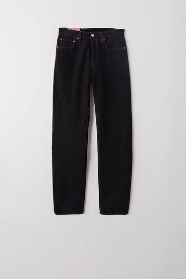 5b31f2979 BLÅ KONST Acne Studios 1997 Black Metal Black   Black 375x. Classic fit  jeans