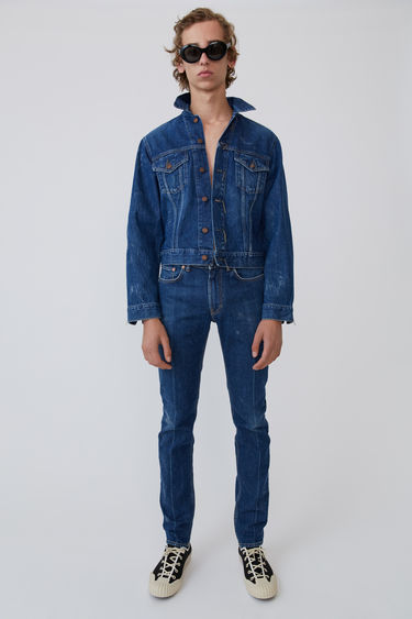 BLÅ KONST Acne Studios 1998 Blue Crease Dark Blue 375x