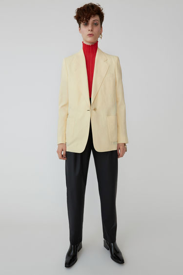 Ready-to-wear FN-WN-SUIT000038 Straw yellow 375x