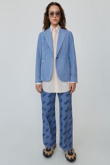Ready-to-wear FN-WN-TROU000111 Bleu bleu marine 375x. Pantalon imprimé 47a1fe91b56