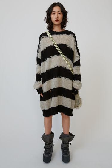 d6de1d22cf Ready-to-wear FN-WN-KNIT000152 Black/grey 375x. Oversized striped sweater