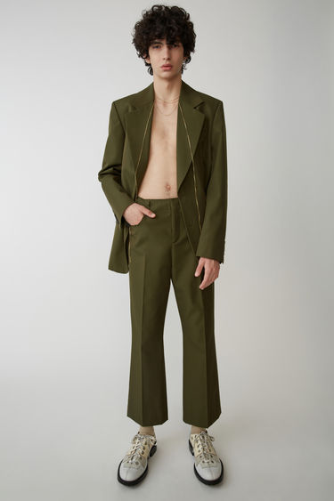 Ready-to-wear FN-MN-TROU000003 Hunter green 375x