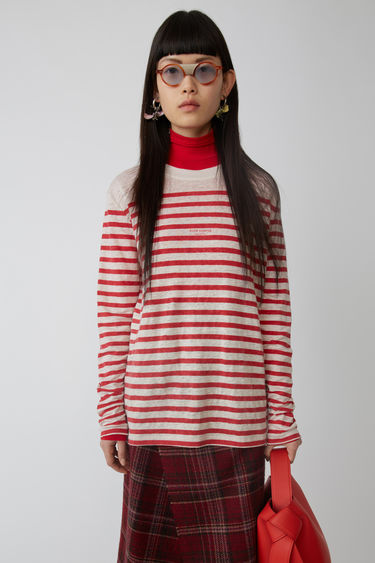 Acne Studios FN-WN-TSHI000021 White/red 375x