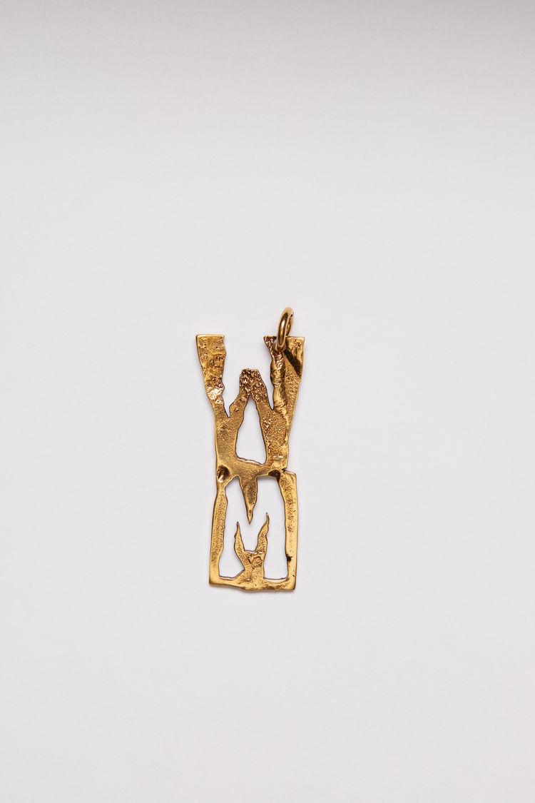 W pendant Gold