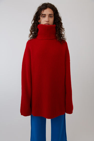 Acne Studios FN-WN-KNIT000018 Red 375x