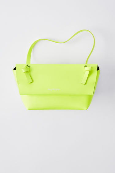 Leather goods FN-UX-SLGS000065 Fluo yellow 375x