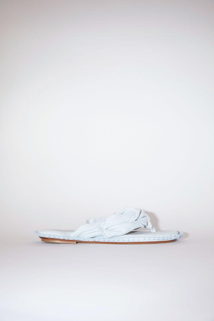Acne Studios Suede sandals Light blue