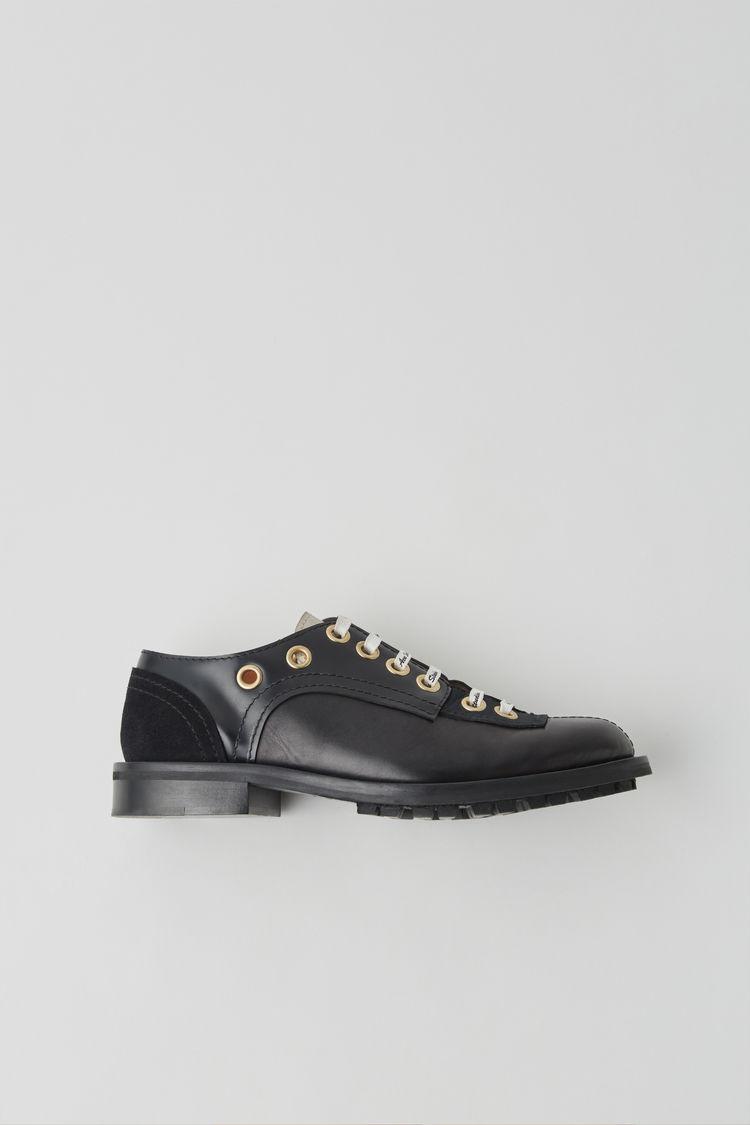 Acne Studios - Chaussures Derby à lacets Noir 73df30bf039