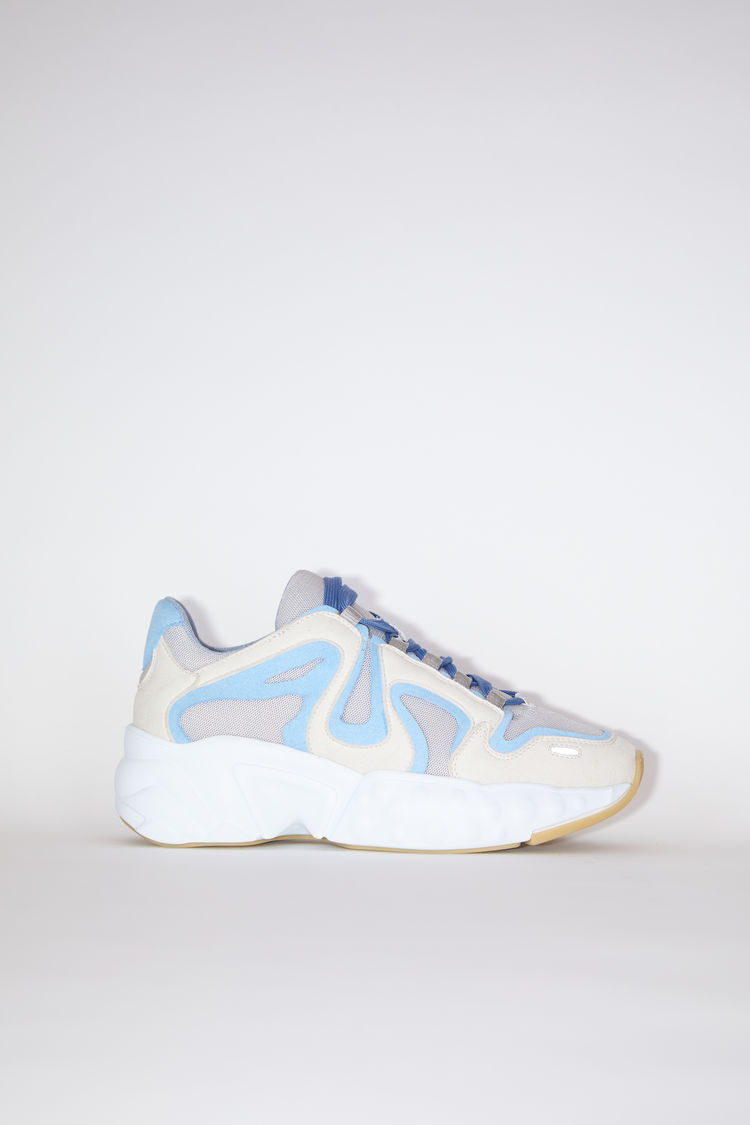 Acne Studios Lace-up sneakers Light blue/white