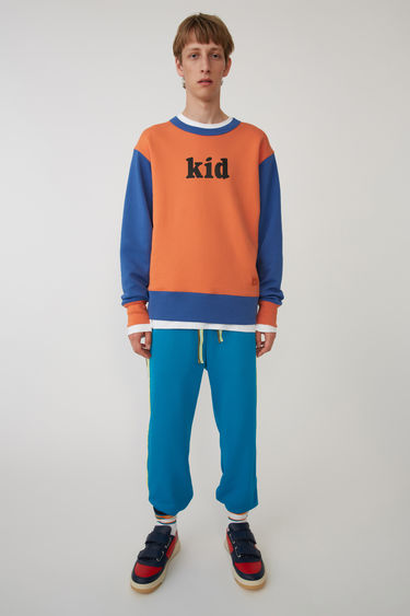 Acne Studios FA-UX-SWEA000002 Orange/blue 375x